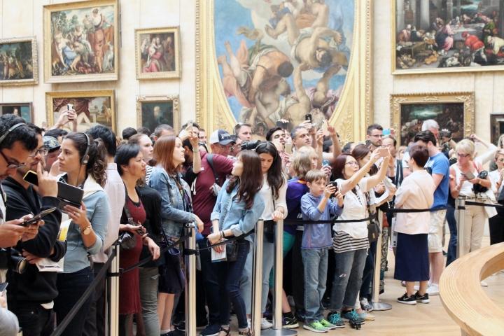 Louvre Mona Lisa